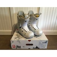Burton Hail - Men's - Size 10 US Snowboard Boots White