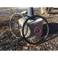 Nox Composites Falkor 36 Road/CX Disc Carbon Disc Brake Wheelset with Industry Nine Hubs